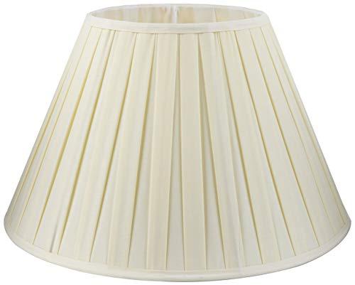 Better & Best lampenkap, katoen, 50 cm, brede plank, natuurlijke kleuren