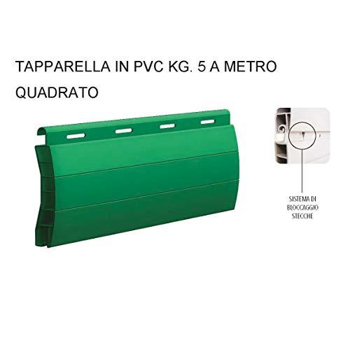 1 MQ di Avvolgibile Tapparella Persiana Tapparelle in PVC SU MISURA 5KG/MQ PREZZO RIFERITO AD 1 MQ