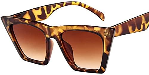 MRZJ Gafas de sol polarizadas/retro con filtro azul, protección UV400, montura ultraligera, estilo Lady Boyfriend, montura angular extragrande, gafas de sol de plástico gruesas, multicolor