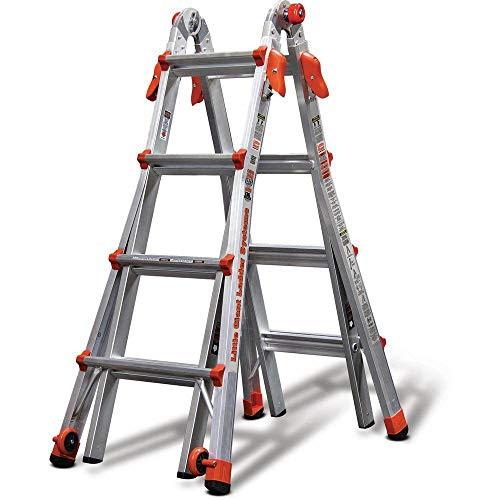 Little Giant Ladder Systems 17-Foot Multi-Position Aluminum LT Ladder