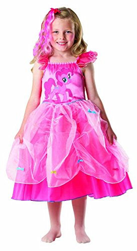 Rubie's-déguisement officiel - My Little Pony - Déguisement Costume Pinki Pie Princesse - Taille 5-6 ans- I-881841M