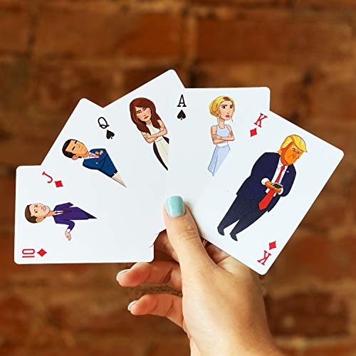 SHOWTIME Our Cartoon President Playing Cards