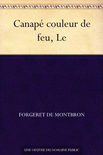 Couverture du livre Canapé couleur de feu, Le