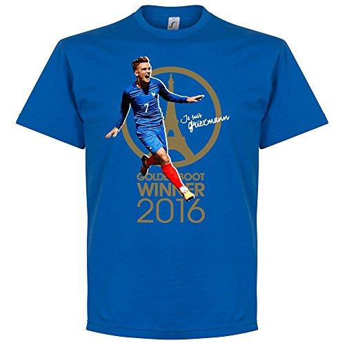 Je Suis Griezmann France 2016 Golden Boot Winner T-shirt - Royal - S