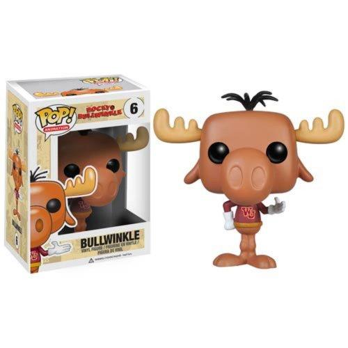 Funko Pop! Rocky & Bullwinkle Bullwinkle Collection Figure.