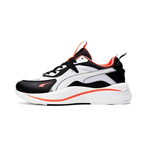 Puma RS Curve Glow Zapatillas Moda Mujeres Blanco/Negro - 38 - Zapatillas Bajas Shoes