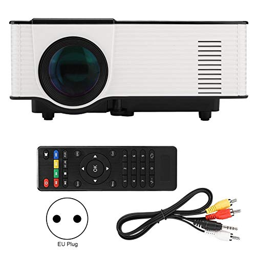 CHICIRIS Proyector HD VS314 Soporte de proyector LED HD...