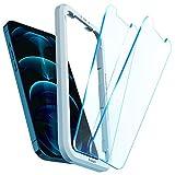 Spigen AlignMaster Vetro Temperato Compatibile con iPhone 12 PRO Max, 2 Pezzi, Resistente ai Graffi, 9H Pellicola prottetiva