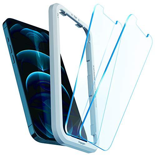 Spigen AlignMaster Vetro Temperato Compatibile con iPhone 12 PRO...