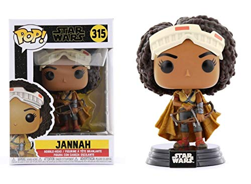 Funko Pop Star Wars™ The Rise of Skywalker: Jannah Vinyl Bobble-Head #39884