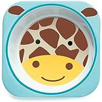 Skip Hop Baby Zoo Little Kid & Toddler Melamine Feeding Bowl (Multi Jules Giraffe)