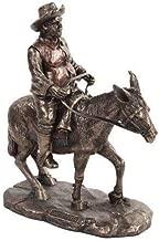 Figurine Squire Sancho Panza Don Quixote Book Spanish Faux Bronze Resin