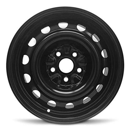 Road Ready Car Wheel for 2006-2019 Volkswagen Jetta 16 inch 5 Lug Black Steel...