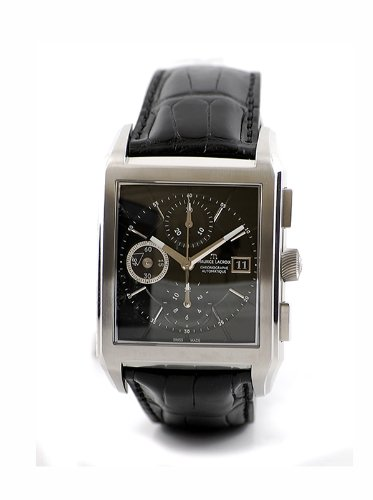 Maurice Lacroix Watches PT6197-SS001-330 - Reloj analógico automático para Hombre, Correa de Acero Inoxidable Color Negro