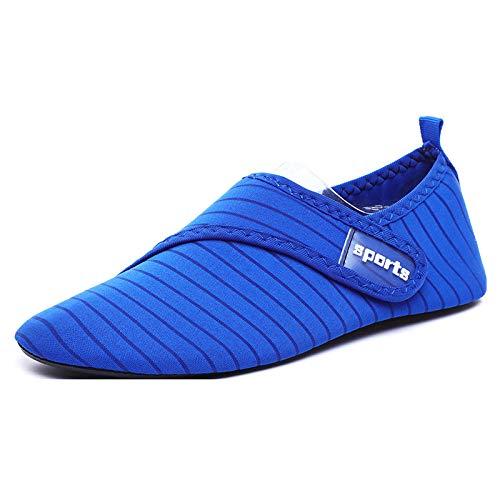 Aerlan Buceo Zapatos de Agua,Secado Rápido Zapatos,Deportes al Aire Libre, natación, Playa, Pareja, Aguas Arriba, Zapatos-Sapphire_48 / 49