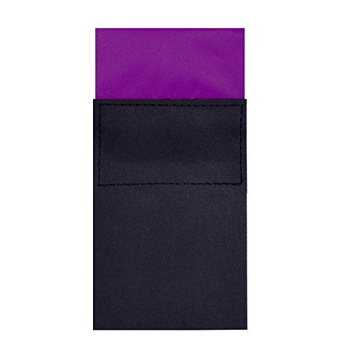 DonDon heren-pochet met bordpapier in maat verstelbaar en al voorgevouwen