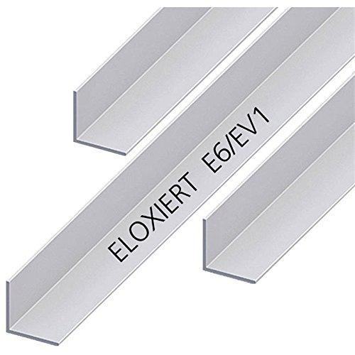 Aluminium Winkel Eloxiert L Profil Alu Schiene Aluprofil Winkelprofil Aluwinkel 40x20x3mm 1000mm