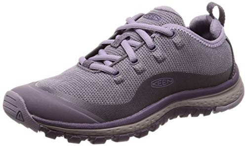 KEEN Damen Shark/Lavender Grey Trekking- & Wanderhalbschuhe, Grau (Terradora Sneaker 1020531), 39 EU