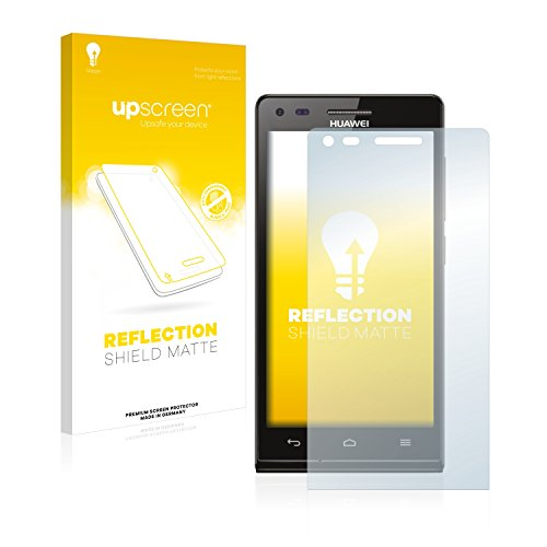 upscreen Entspiegelungs-Schutzfolie kompatibel mit Huawei Ascend P7 Mini – Anti-Reflex Bildschirmschutz-Folie Matt