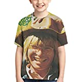 CCANE7 Camiseta Divertida Kid's John Denver's Greatest Hits Camiseta de Manga Corta Impresa en 3D de diseño para niñas y niños