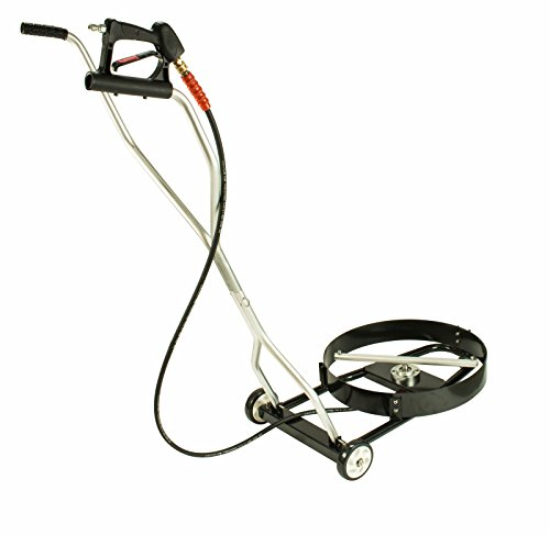 Erie Tools 21' Vehicle Undercarriage Surface Cleaner 4000 PSI 4.0 Orifice 3/8' Quick Connect Plug...