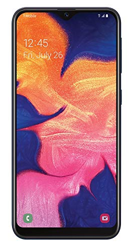 Samsung Galaxy A10e GSM Unlocked (not CDMA) 32GB Smartphone - Black (Renewed)