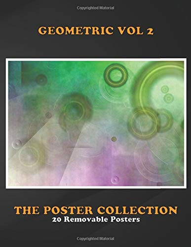 Poster Collection: Geometric Vol 2 Rings Collage Abstract