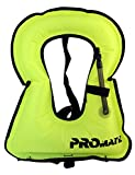 Promate Adult Snorkeling Vest Jacket- Medium-Yellow