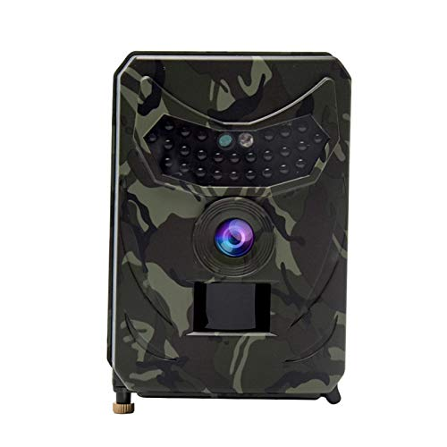 Wildlife Trail Camera, Waterproof 1080P 120 ° Wide Angle Infrared Night Vision Camera with Infrared Motion Activated Game Camera for Animal Observation Monitoring Home Security