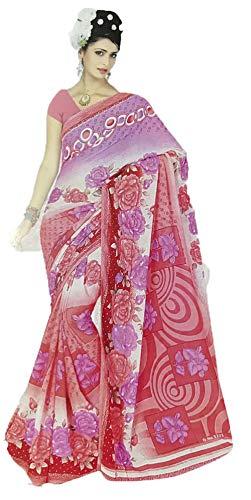 Trendofindia Bollywood Sari Kleid Chiffon Fo408