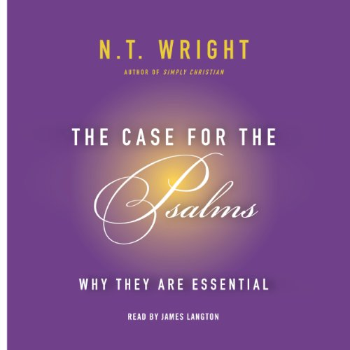 The Case for the Psalms audiobook cover art