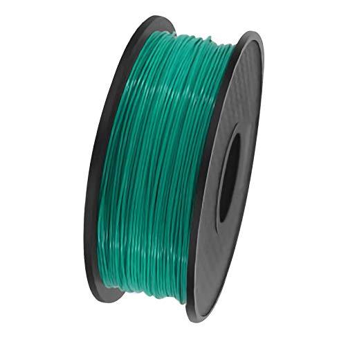 QDTD QualitäTs Pla Filament Feder 3D Filament Refills 1,75 mm Genauigkeit ± 0,02 100% Nein Blase 1 kg 2.2lb Kein Geruch Und Leicht Zu SchäLen Filament for Die Meisten 3D-Drucker(Color:Grün)