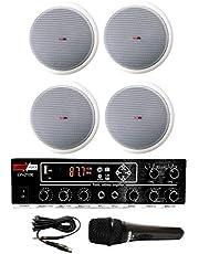 Lastvoice Medium-2 Tavan Hoparlör ve Anfi Ses Sistemi Paketi