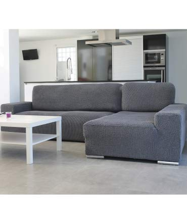 10XDIEZ Housse de canapé Longue B/Long Glamour - Couleur - Beige, Côté - Droite