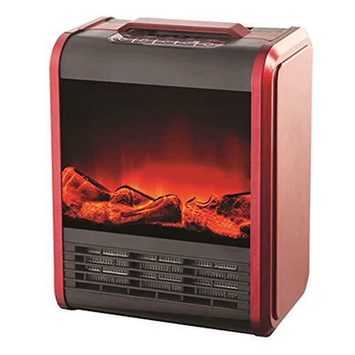 Elektrokamin (Rot)Elektrischer...