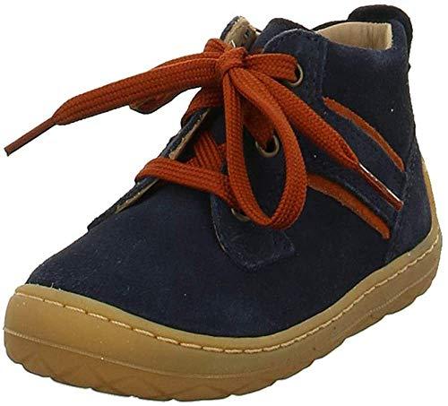Superfit Baby Jungen SATURNUS 500342 Sneaker, Blau (Blau/Rot 80), 17 EU
