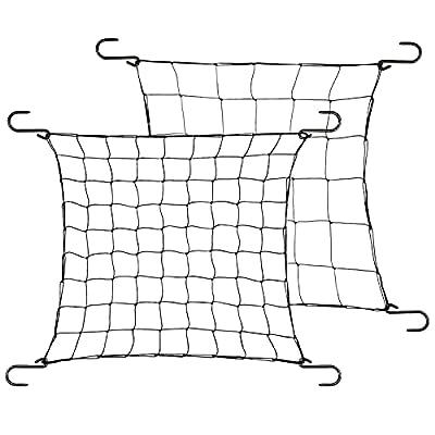 Luxbird 2Pcs Trellis Net, Dual Layer Trellis Netting for 4x4ft, 5x5ft Grow Tents, Grow Net Grow Tent Net for Indoor Plants