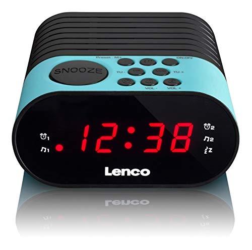 Lenco CR-07 - Clock radio - Blau