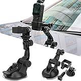 SALUTUYA Material del ABS de la Ventosa del Coche de la cámara, para Paredes, para Insta360 One R, para dji OSMO Pocket 2