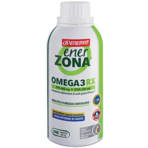 Enerzona omega 3 da 240 cps nuova capsula senza ritorno di gusto
