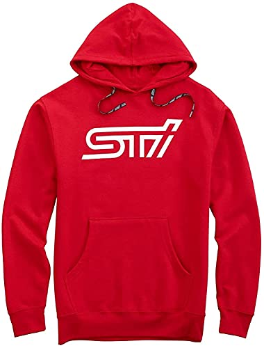 Subaru Sti Hooded Hoodie Sweatshirt Sti Official Genuine WRX Racing JDM New (Large)