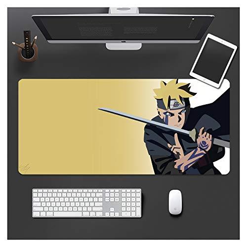IMBMW 900X400X3MM Alfombrilla de ratón para Juegos y Anime Personalizada Grande, Teclado Alfombrilla para computadora con Base de Goma Antideslizante para Oficina Boruto-5