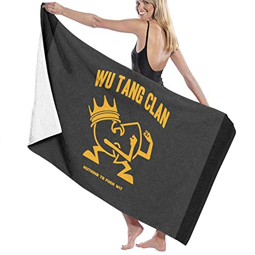 W-U-TA-Ng Cla-N Strandtuch Strandtücher Übergroße Poolhandtuch Sand Kostenloses schnell trockenes Strandtuch für Reisen Schwimmen Bad Yoga Camping