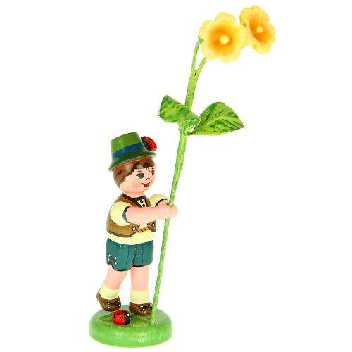 Hubrig Blumenjunge 11cm Blumenkind mit Schlüsselblume