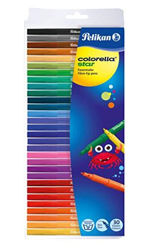 Pelikan 814539 Faserschreiber Colorella Star C302, 30 Stifte im Etui
