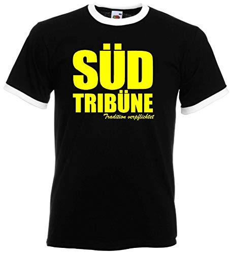 Dortmund Herren Retro Shirt Südtribüne Tradition verpflichtet