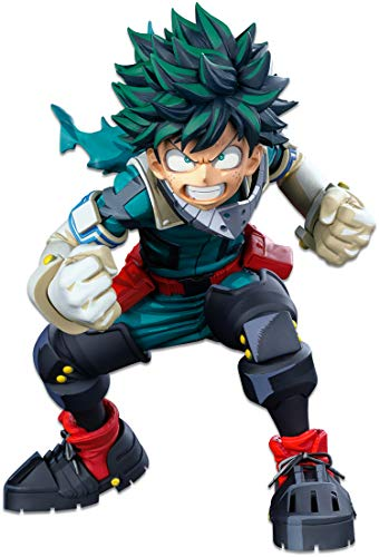 Banpresto My Hero Academia World Figure Colosseum Modeling Academy Super Master Stars Piece The Izuku Midoriya(Two Dimensions), Multiple Colors (BP16970)