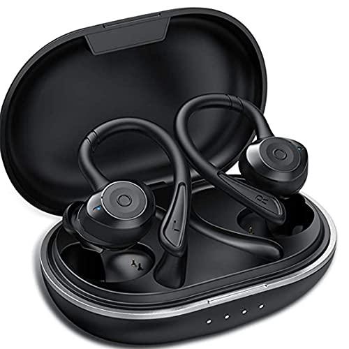 Muzili Auriculares Bluetooth Deportivos V5.0 IPX7 Impermeable Auriculares Bluetooth...