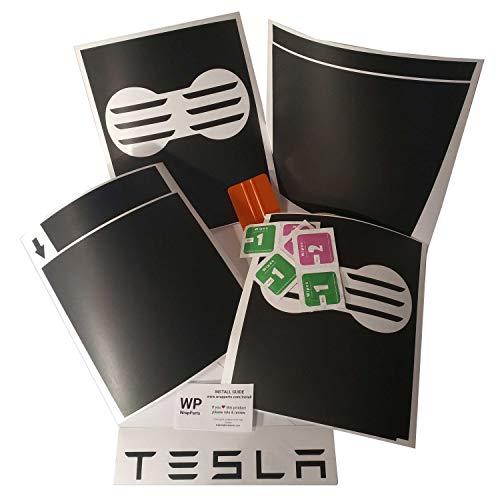 Tesla Model 3 Center Console Kit (Black Matte)