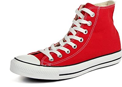 Converse Unisex Chuck Taylor All Star High Top (10.5 D(M) US, Red)